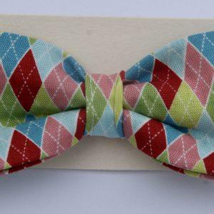 Dog Bow Tie-Harlequin